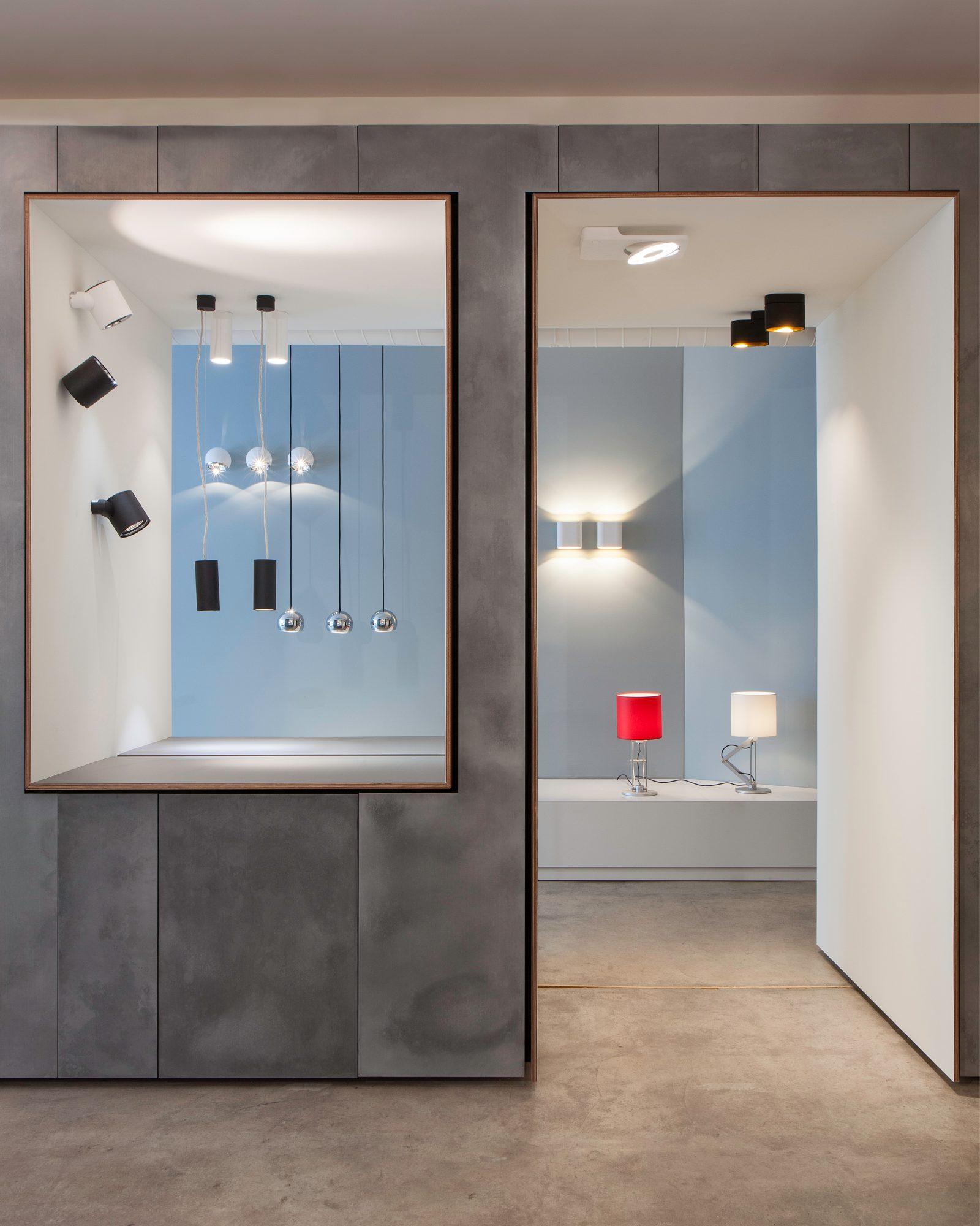 Showroom Luceplan De Castelli